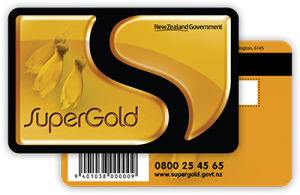 super gold card